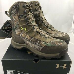 Under Armour Brow Tine Camo Boots 1240080-946 Sz 9